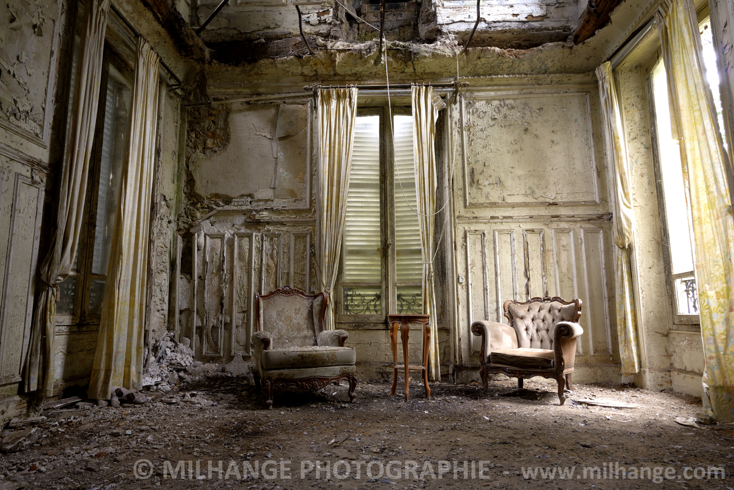 photo art chateau abandonne decay abandoned libourne bordeaux 6 photographe saint andr de. Black Bedroom Furniture Sets. Home Design Ideas