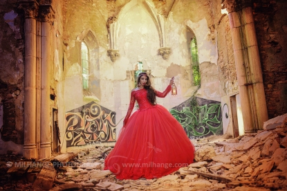Robe disponible à la location sur ambrine.fr : https://ambrine.fr/portfolio/robe-flamboyante-princesse/