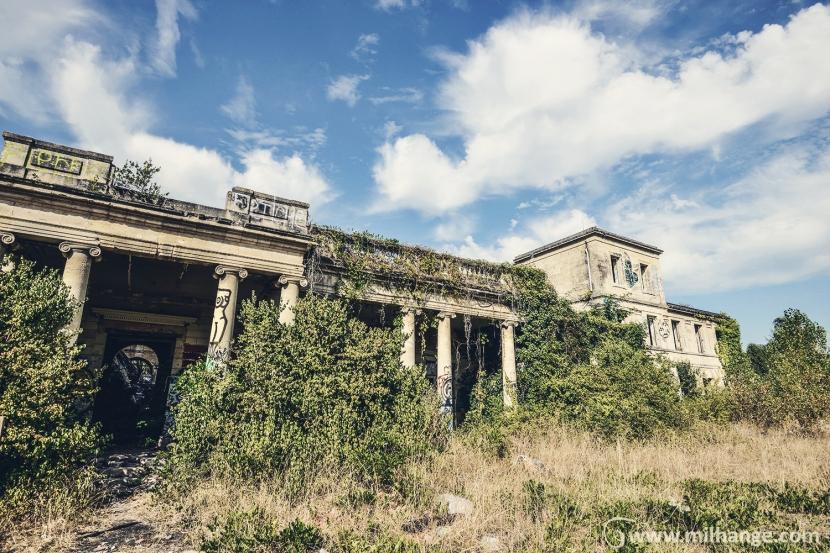photo-urbex-exploration urbaine-villa-genie-gironde