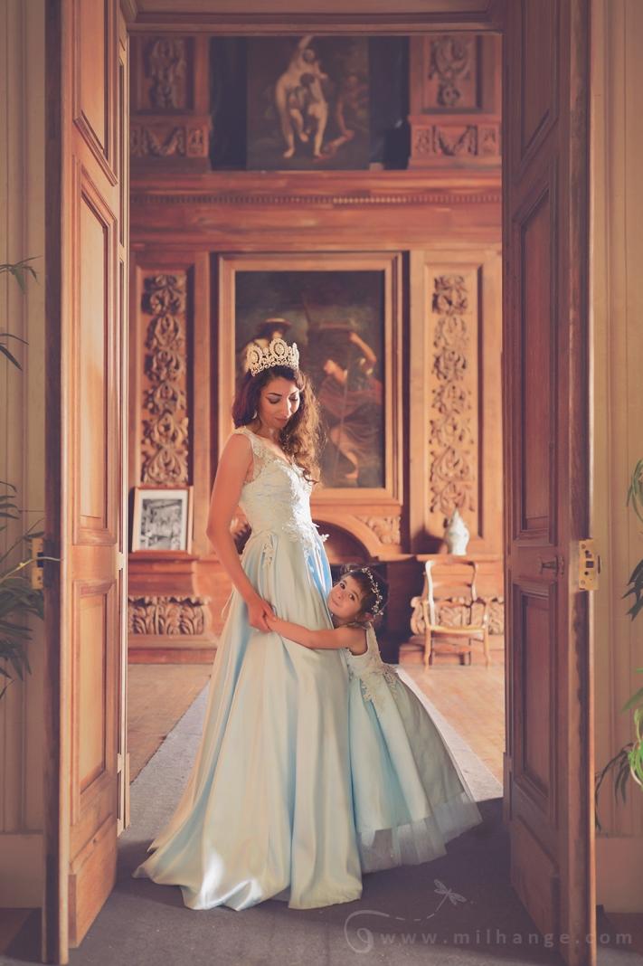 Photo-chateau-mere-fille-robe-princesse-reine-milhange-bordeaux-10